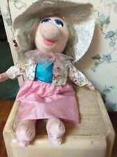 Miss Piggy Plush Doll W/ Hat