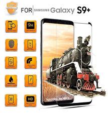 5D Panzerglas für SAMSUNG GALAXY S9 + PLUS, (Schwarz), 9H, HD, Premium Qualität