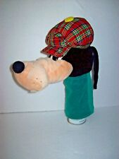 Vintage Disney Goofy Golf Head Cover Putter Driver Cover Carousel
