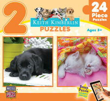 Keith Kimberlin Soft Snuggles 2 Pack Puzzle (24 Pieces), Ages 3+