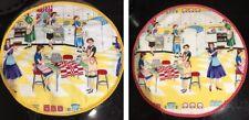 AGA Top Chefs Pad, Hob Mat, Lid Cover (Single) Michael Miller Home Ec Fabric