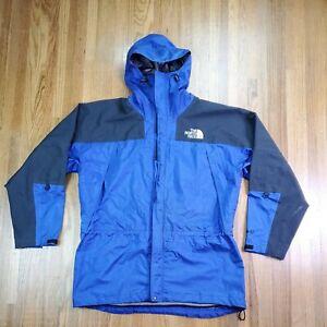 Vintage The North Face Gore Tex Mens Jacket Sz XL Purple Parka Pit Zip Gore-Tex
