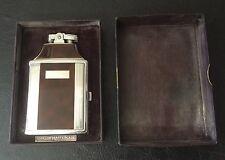 Vintage Ronson Mastercase Cigarette Case Lighter Original Box Tobacciana
