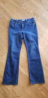 So Slimming by Chico's .5 / 6 Slim Crop Dark Rinse Stretch Denim Jeans