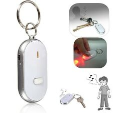 Hot LED Key Finder Locator Find Lost Keychain Whistle Sound Control Anti-Lost