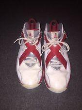 Nike Air Jordan 8 Team J's Red/White Basketball Shoes Jordan 4 5 6 7 8 9 10