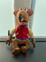 """Junior Toys, Igel The Muppets Show Rizzo The Rat Plush Soft Toy Large 16"""" Rare"""