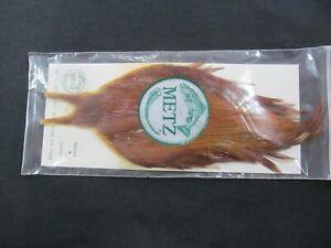 Brand New Metz Brown #3 Hackles Saddles Fly Tying Flies Fishing Trout Tie