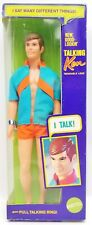 Vintage 1969 Barbie Mattel New Good Looking Talking Ken Doll No. 1111 NRFB 2