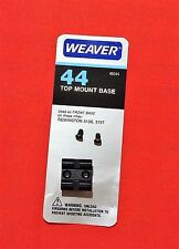 Weaver Scope Base- #44 fits Remington 513S, 513T  - FRONT Base - Zoom on Chart