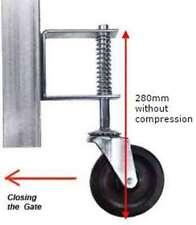 Jockey Wheel gate castor 100mm Dia Max weight capacity 57 kg
