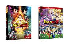 Dragon Ball Z Battle Of The Gods DVD & Resurrection 'F' Movie DVD Combo