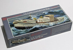 GLENCOE COAST GUARD RESCUE BOAT Ship MODEL KIT 1/48 SCALE OPEN BOX NEW VINTAGE