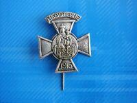 #1793# INSIGNE BADGE PLERINAGE ND DE HEBUTERNE 1915
