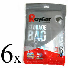 RayGar 90cm x 50cm Vacuum Compressed Storage Bag - 6 Pack