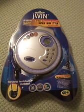 Jwin Portable Cd Player Jx-Cd298- Brand New Sealed Headphone Included