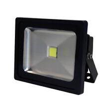 LED Fluter 30W schwarz Flutlichtstrahler 30 Watt 2400lm IP65 Tageslicht 6400K