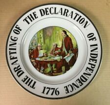 The Declaration of Independence 1776 Collector Plate
