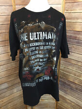 UFC Ultimate Fighting Championship Black 1993 Crew Neck T shirt