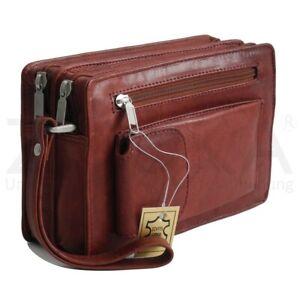 Bag Street - Leder Herren Handgelenktasche Herrentasche Auswahl