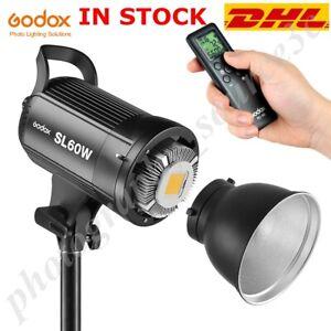 Godox LED Video Light SL-60W 5600K White Version Video Continuous Bowens Mount