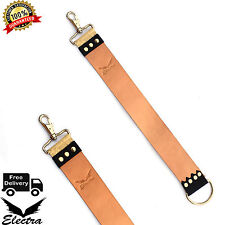 Durable Leather Strop Razor Sharpening Strap High Quality Belt for Shaving EA