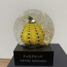 Yayoi Kusama Snow Dome Globe