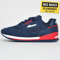 Ellesse Heritage 147 Suede Men's Retro Casual Fashion Classic Trainers Navy