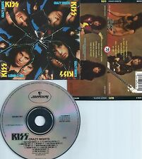 KISS-CRAZY NIGHTS-1987-USA-MERCURY RECORDS 832 626-2 M-1-MAT: 832-626-2 13@-CD-M