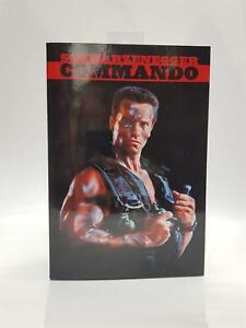NECA Commando 30th Anniversary Ultimate John Matrix Action Figure *Box Damage*
