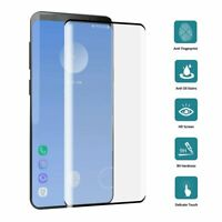 For Samsung Galaxy S10 S10+ Plus 9H Full Cover Tempered Glass Screen Protector