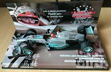Minichamps F1 1/43 M. Schumacher Last race Brazil GP 2012 (Final GP)
