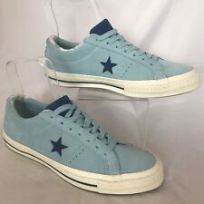 ALL STAR CONVERSE Chuck Taylor LIGHT BLUE AND NAVY TRAINERS SIZE UK 8 EU 41.5