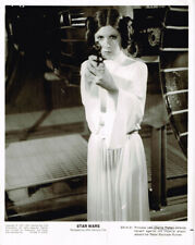 Star Wars Carrie Fisher Original 1977 Press Release Photo