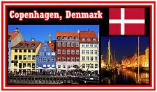 COPENHAGEN, DENMARK - SOUVENIR NOVELTY FRIDGE MAGNET - BRAND NEW - GIFT