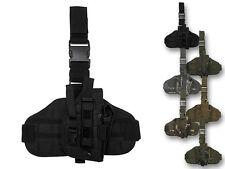 MFH Pistolenbeinholster Molle Pistolenholster Beinholster Mollesystem Modular