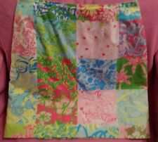 Lilly Pulitzer Millenium Patch Y2k Skirt  Super Rare Beautiful Sz 6