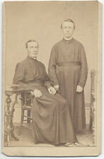 CARTE DE VISITE, A PORTRAIT OF TWO YOUNG MINISTERS. MILWAUKEE.