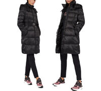 Women's EA7 Emporio Armani  Belted jacket with wool padding