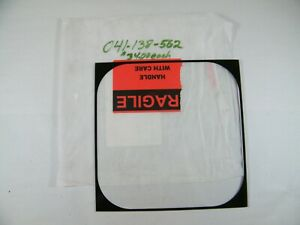 """NEW PROJECTOR GLASS 041-138-562 10 7/8"""" X 10 7/8"""""""