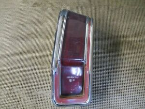 1971 Plymouth Valiant LH Driver Side Tail Light Assembly 3478697 #2