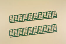 Auhagen 80224 Spur H0 Fenster Q,R, grün #NEU in OVP#