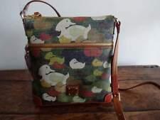 Dooney & Bourke Camouflage Duck Zip Crossbody Green Brown Bdckd264t