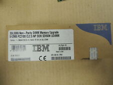 NOS 512MB 33L3306 Non-Pairty DIMM Memory Upgrade PC2100 CL2.5  DDR SDRAM 184 Pin