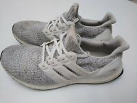 Adidas Ultra boost 4.0 Mens Cloud white/Grey F36155 Size 9.5 Running Shoes