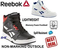 Reebok High-Top Basketball Shoes Motion Control shoe Memory Foam boots