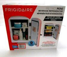 Retro Mini Compact Refrigerator 9 Cans New Fridge Frigidaire Efmis175-Pink Nib
