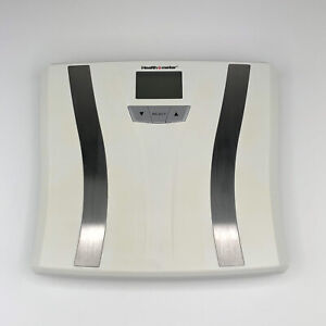 Health o Meter Body Fat & Hydration Monitoring Scale Digital BFM883DQ1-01 White