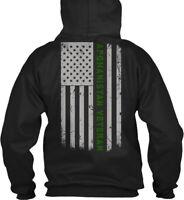 Afghanistan Veteran Us. Flag Pride - Gildan Hoodie Sweatshirt