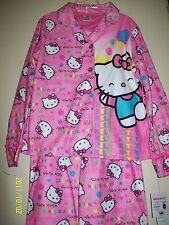 Hello Kitty Sanrio Girls 2 Pc Flannel Pajama Set Pink 8 NWT